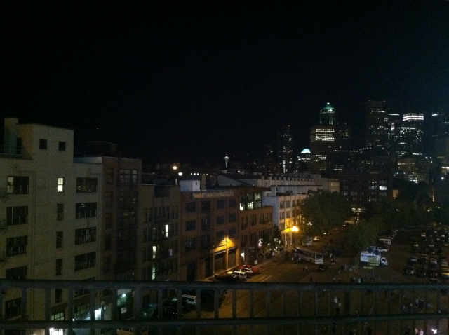 Seattle from the CLink