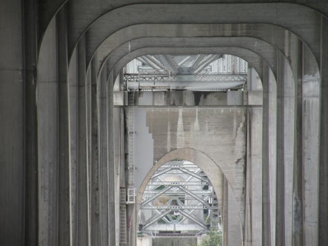 The Hall of Giants - View Under Aurora Bridge