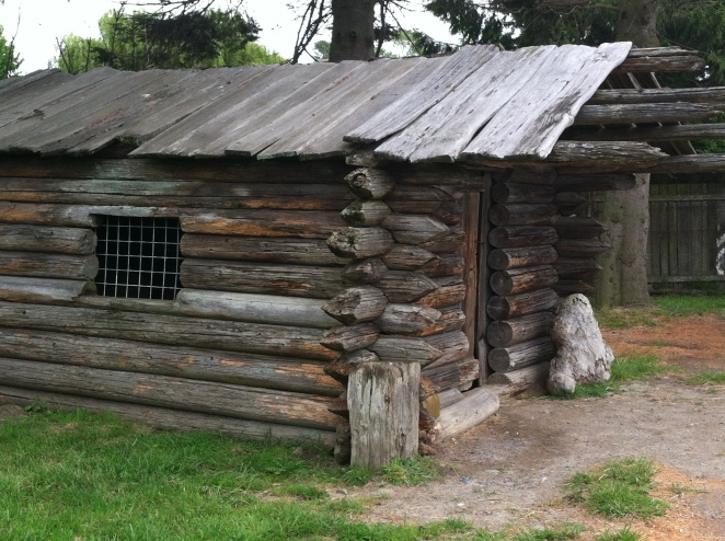 Grizzly Adams Cabin at Olympic Game Farm Park
