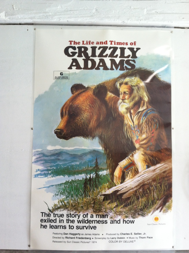 Grizzly Adams Movie Poster