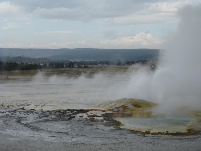 Yellowstone Geyser | Spasm Geyser