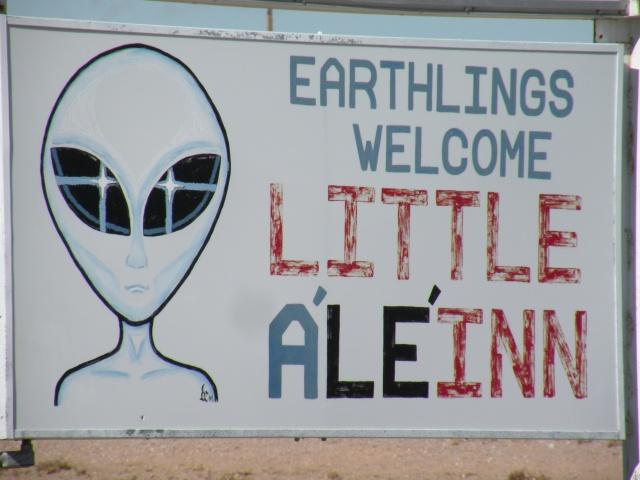 Earthlings Welcome