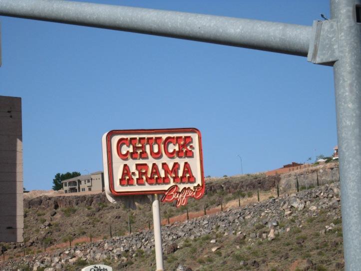 Chuck-A-Rama.  mmmm.
