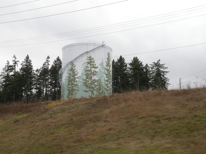 Camo Water Tower