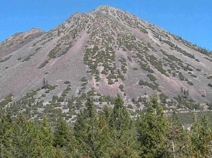 Mt Shasta cinder cone (a.k.a. volcano poop)
